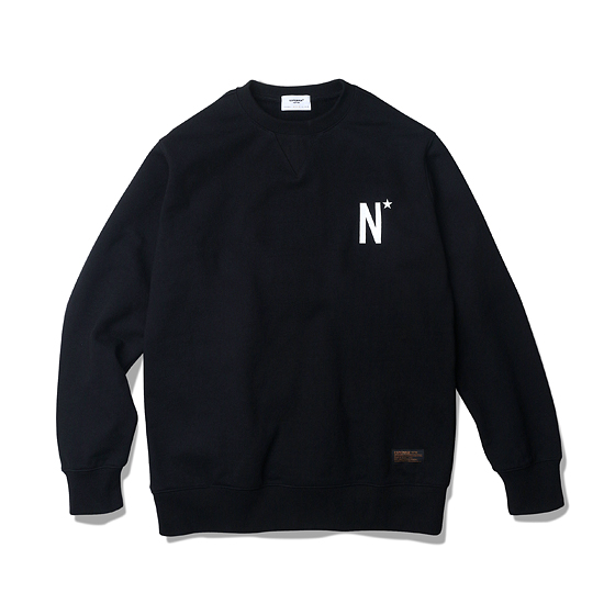 "<span style=""font-family:NanumGothic; font-size:15px; font-weight:bold;"">US Veteran Heavy Weight Sweat Shirt Black</span><br /><span style=""font-family:NanumGothic; font-size:11px;"">Espionage 2015 S/S 시즌에 이어 기존 원사의 단점들을 보완해 편직 된 헤비 스웨트 원단 시리즈 제품으로 2015-16 A/W Season 니팅 아이템 중 두번째로 중량이 높은 제품입니다. 일반적으로 사용되는 560g/yd² 니팅 제품들보다 월등한 두께와 밀도로 제직된 제품으로 790g/yd²의 중량을지니고 있으며내부에는 기모(起毛, Napping)처리를 하여 보온성이 뛰어납니다.일반적인 편직물에비해 도목을 최대한으로 좁게 편직하여 밀도가 굉장히 높으며 오랜 사용 기간에도 충분한 가치가 존재할 수 있도록 많은 노력을 기울인 제품입니다. 더불어 립 역시 메인 원단 사양에 맞게끔 별도로 제직하여 쉽게 늘어날 수 있는 목 라인과 소매부분의 내구성을 강조했습니다. 전면에는 미해군의 이니셜인 N, 후면에는 미해군참전용사 및 해군모임을 뜻하는 US NAVY VETERAN 이 나염처리 되어있으며 고압력 및 고열의 특수 나염 처리 방식을 사용하여 오랜 사용감에도 데미지가 적도록 제작되었습니다.</span><br /><a href=""http://www.wherehouse.co.kr/shop/shopdetail.html?branduid=733028&xcode=041&mcode=002&scode=002&type=Y&sort=order"" target=""_blank""><span style=""font-size:11px; color:#FFE400;"">BUY NOW</span></a>"