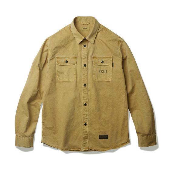"<span style=""font-family:NanumGothic; font-size:15px; font-weight:bold;"">Hurst Dyed Shirts Mustard</span><br /><span style=""font-family:NanumGothic; font-size:11px;"">전체적인 외형은 기본에 충실한 Double Pocket Shirts의 패턴을 베이스로 하였으며 20수 고밀도 트윌을 사용하여 본 제품 완성 후 피그먼트 다잉으로 마감한 제품입니다. 피그먼트 다잉은 천연 안료로 염색하는 기법으로 원단 표면에 염색 후 자연스럽게 탈색 되어나가는 방식이기 때문에 오랜시간 착용 후 워싱이 되어감에 따라서 세월의 흔적을 느끼실 수 있습니다. 또한 ""ARMY VS NAVY""컨셉 워드를 반영하여 제작 된 제품으로 Army Version과 Navy Version에서 각기 다른 그래픽이 특징입니다. 연례적으로 미국은 각군(육군, 해군, 공군, 해병대) 총 4개의 팀이 모여 각종 스포츠 시합을 해왔습니다. 그 중 육군과 해군 사이에서의 경쟁의식은 지금까지도 계속 되어 오고 있는데 이런 역사적인 배경을 참고하여 미 육군사관학교와 해군사관학교의 각종 시합에서 미 육군이 사용하는 구호인 GO ARMY BEAT NAVY 문구가 나염처리 되어있습니다. 부자재로 Melamine button(Made In U.S.A)을 메인 단추로 사용함으로써 밀리터리 속성 제품 특유의 무게를 더하였으며 원단의 단단함과 밀도에 맞는 튼튼한 재봉으로 완성도를 최대한 높인 제품이라 할 수 있습니다. </span><br /><a href=""http://www.wherehouse.co.kr/shop/shopdetail.html?branduid=732014&xcode=041&mcode=002&scode=002&type=Y&sort=order"" target=""_blank""><span style=""font-size:11px; color:#FFE400;"">BUY NOW</span></a>"