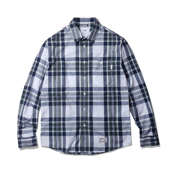 """<span style=""""font-family:NanumGothic; font-size:15px; font-weight:bold;"""">Karen Flannel Check Shirt Green</span><br /><span style=""""font-family:NanumGothic; font-size:11px;"""">전체적인 외형은 기본에 충실한 Double Pocket Work Shirt(더블 포켓 워크 셔츠)의 패턴을 베이스로 하였으며, 지난시즌과 달리 일본산 그린/네이비 컬러 조합의 체크 코튼 원단이 사용 되어 Miles L/S Shirt 제품에 비해 원단의 밀도적인 측면과 색감 등이 업그레이드 되었습니다. 또한 여유로웠던 피팅 역시 패턴수정을 거쳐 저스트하고 몸에 잘맞는 착용감을 느끼실 수 있습니다. 부자재로는 천연자게버튼을 사용하였으며 원단의 단단함과 밀도에 맞는 튼튼한 재봉으로 완성도를 최대한 높인 제품이라 할 수 있습니다.</span><br /><a href=""""http://www.wherehouse.co.kr/shop/shopdetail.html?branduid=732018&xcode=041&mcode=002&scode=002&type=Y&sort=order"""" target=""""_blank""""><span style=""""font-size:11px; color:#FFE400;"""">BUY NOW</span></a>"""
