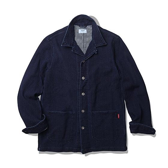 "<span style=""font-family:NanumGothic; font-size:15px; font-weight:bold;"">Lennon Washed Shirt Jacket Indigo</span><br /><span style=""font-family:NanumGothic; font-size:11px;"">U.S. NAVY Denim Deck 자켓을 새로운 셔츠 자켓 형태로 재해석한 제품입니다. 기존의 데님 덱자켓의 무거움을 덜고 외형의 디자인 역시 개선한 제품으로 이중직의 인디고 염색 원단을에 최종적으로 데미지 워싱 가공을 입혀 마무리하였습니다. 오리지널 데님 덱 자켓의 외형적 분위기는 유지하되 아이템의 본 속성은 과감하게 덜어내 SS 시즌에 걸맞게 제품의 느낌을 전환한 것이 본 아이템의 큰 특징이라 볼수 있습니다. 이중직 원단의 내부는 Hound's Tooth Check 원단으로 제직되었으며 별도의 안감이 없어도 겉면의 데님 인디고 원단과 내부의 체크 원단 통해 제품의 완성도를 충분히 느낄 수 있습니다. 더불어 금속의 scovill Button으로 마무리하여 오리지널 데님 덱 자켓의 분위기를 유지하고자 했습니다. 또한 천연 인디고 원단의 데미지 워싱 표현을 위해 별도의 수축률 테스트와 함께 샘플링 작업을 별도로 진행했으며 이는 최종 제품의 완성도를 높이는 계기가 되었습니다.</span><br /><a href=""http://www.wherehouse.co.kr/shop/shopdetail.html?branduid=728121&xcode=029&mcode=003&scode=&type=Y&sort=order"" target=""_blank""><span style=""font-size:11px; color:#FFE400;"">BUY NOW</span></a>"