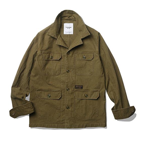 """<span style=""""font-family:NanumGothic; font-size:15px; font-weight:bold;"""">Hunter Rib Military Shirt Jacket Tan</span><br /><span style=""""font-family:NanumGothic; font-size:11px;"""">Ripstop이란 원단 조직의 한 형태를 이야기하며 강한 실을 바둑판 형태로 사이사이에 넣어 제작한 원단을 이야기합니다. 총 네이비와 브라운의 두 가지 컬러로 제작되었으며 가장 기본적인 밀리터리 4포켓 셔츠 자켓을 토대로 A-1 Wool Jacket의 패턴과 특징을 믹스해 완성시켰습니다. 코튼 Back Sateen 버전과 달리 다소 가벼운 색상과 워싱 등의 후반 가공에 집중한 제품으로 Cotton Ripstop 원단 특유의 가공 후 높은 데미지로 Cotton Back Sateen 원단과 다른 워싱 느낌을 만나보실 수 있습니다. 별도의 안감이 필요하지 않을 정도로 메인 원단의 밀도와 촉감을 충분히 느끼실 수 있는 제품입니다.</span><br /><a href=""""http://www.wherehouse.co.kr/shop/shopdetail.html?branduid=728381&xcode=029&mcode=003&scode=&type=Y&sort=order"""" target=""""_blank""""><span style=""""font-size:11px; color:#FFE400;"""">BUY NOW</span></a>"""