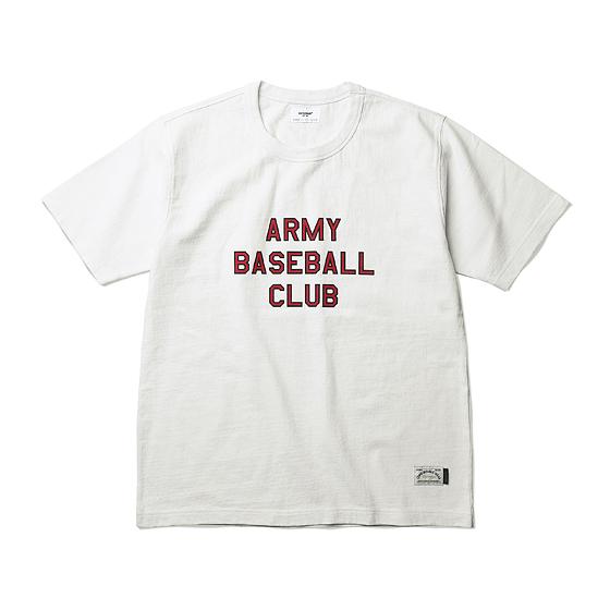 """<span style=""""font-family:NanumGothic; font-size:15px; font-weight:bold;"""">ABC Ringspun S/S Heavyweight T-shirt Off White</span><br /><span style=""""font-family:NanumGothic; font-size:11px;"""">ESPIONAGE 2015 SS 시즌을 맞이해 새로운 원사와 제직으로 완성된 Knitting 아이템입니다. OG 10's Ringspun Yarn(오리지널 10수 링원사) Heavyweight Cotton을 바탕으로 높은 밀도로 제직 되 Knitting 원단임에도 낮은 수축률과 적절한 고시감까지 느낄수 있는 제품입니다. 특히 제품의 완성 후 한 차례 워싱까지 작업해 후반 가공에 있어서도 심혈을 기울인 제품입니다. ARMY BASEBALL CLUB이라는 가상의 야구팀을 베이스로 스포츠 웨어의 성격과 밀리터리 장르의 감성을 믹스한 것 역시 제품의 원단과 더불어 충분히 매력을 더하고 있으며 메인 라벨 역시 두 장르의 혼합을 의미하는 더블라벨 트릭으로 재봉해 외형의 분위기 역시 돋보이는 아이템입니다. </span><br /><a href=""""http://www.wherehouse.co.kr/shop/shopdetail.html?branduid=730057&xcode=029&mcode=003&scode=&type=Y&sort=order"""" target=""""_blank""""><span style=""""font-size:11px; color:#FFE400;"""">BUY NOW</span></a>"""
