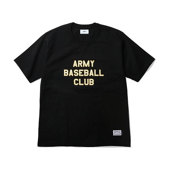 """<span style=""""font-family:NanumGothic; font-size:15px; font-weight:bold;"""">ABC Ringspun S/S Heavyweight T-shirt Black</span><br /><span style=""""font-family:NanumGothic; font-size:11px;"""">ESPIONAGE 2015 SS 시즌을 맞이해 새로운 원사와 제직으로 완성된 Knitting 아이템입니다. OG 10's Ringspun Yarn(오리지널 10수 링원사) Heavyweight Cotton을 바탕으로 높은 밀도로 제직 되 Knitting 원단임에도 낮은 수축률과 적절한 고시감까지 느낄수 있는 제품입니다. 특히 제품의 완성 후 한 차례 워싱까지 작업해 후반 가공에 있어서도 심혈을 기울인 제품입니다. ARMY BASEBALL CLUB이라는 가상의 야구팀을 베이스로 스포츠 웨어의 성격과 밀리터리 장르의 감성을 믹스한 것 역시 제품의 원단과 더불어 충분히 매력을 더하고 있으며 메인 라벨 역시 두 장르의 혼합을 의미하는 더블라벨 트릭으로 재봉해 외형의 분위기 역시 돋보이는 아이템입니다. </span><br /><a href=""""http://www.wherehouse.co.kr/shop/shopdetail.html?branduid=730058&xcode=029&mcode=003&scode=&type=Y&sort=order"""" target=""""_blank""""><span style=""""font-size:11px; color:#FFE400;"""">BUY NOW</span></a>"""