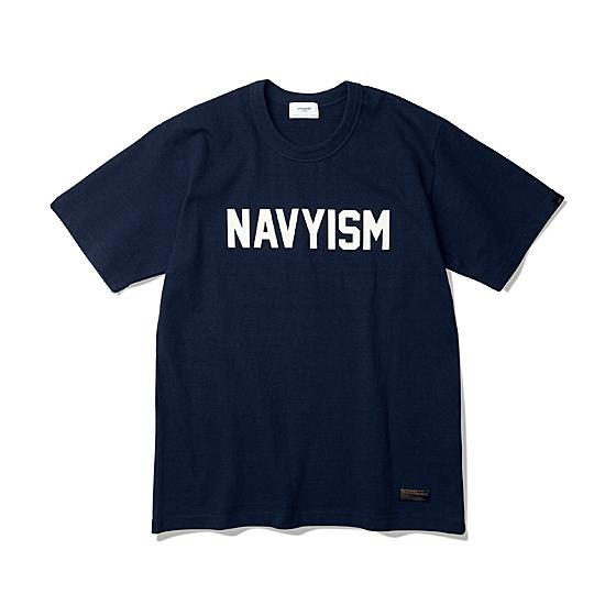 """<span style=""""font-family:NanumGothic; font-size:15px; font-weight:bold;"""">Navyism Heavy Weight Tee Navy</span><br /><span style=""""font-family:NanumGothic; font-size:11px;"""">Espionage 2016 S/S Season Part 2. Navyism Heavy Weight T-Shirts 입니다. Espionage에서 직접 시직하고 제직한 Original 10's Ringspun Yarn(오리지널 10수 링 원사) Heavyweight Cotton을 바탕으로 높은 밀도로 제직 되어 Knitting 원단임에도 낮은 수축률과 적절한 고시감까지 느낄수 있으며 특히 제품의 완성 후 한 차례 워싱까지 작업해 후반 가공에 있어서도 심혈을 기울인 제품입니다. 또한 이번 시즌부터 새롭게 적용된 타이트한 넥 라인과 넓은 폭(2.7cm)의 Dubble Folder 방식은 과거 빈티지 제품들을 철저히 분석 후 제작되어 오랜기간 착용하셔도 목 늘어짐이 적게끔 완성되었습니다. 제품 전면에는 NAVYISM 문구가 Flocking 방식으로 나염처리 한 것이 특징인 제품으로 2016 SS 시즌의 니팅 제품들은 고객분들에게 충분히 만족시킬만한 완성도를 드리리라 생각합니다.</span><br /><a href=""""http://www.wherehouse.co.kr/shop/shopdetail.html?branduid=737801"""" target=""""_blank""""><span style=""""font-size:11px; color:#FFE400;"""">BUY NOW</span></a>"""