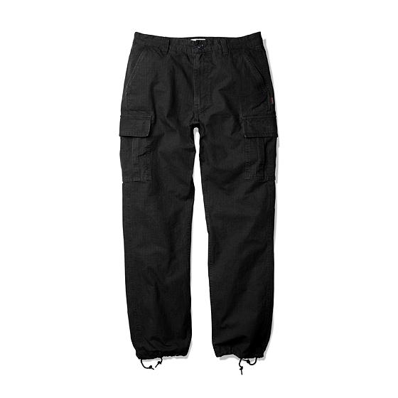 "<span style=""font-family:NanumGothic; font-size:15px; font-weight:bold;"">Romit Ripstop Cargo Pants Black</span><br /><span style=""font-family:NanumGothic; font-size:11px;"">1960년 대 배트남 전쟁 당시 미국 육군에게 보급 된 전투 복장인 초기형 U.S Army Jungle Fatigue Pants를 모티브로 하여 새롭게 디자인 된 제품입니다. 메인원단으로 사용 된 Ripstop(립스탑)은 제 2차 세계대전 때 군사용도로 처음 개발 되었으며 찢어짐을 방지하기 위해 바둑판 무늬로 강한 실을 사이사이에 넣어 파열이나 외부 손상에 강해 내구성이 뛰어 난 원단으로 에스피오나지에서 직접 제직하여 원단의 두께나 촉감을 몸소 느끼실 수 있습니다. 또한 완봉 후 별도의 데미지 워싱으로 마무리하여 원단 특유의 고시감과 더불어 워싱 시 얻는 데미지의 민감한 감도까지 표현해 낸 제품입니다.</span><br /><a href=""http://www.wherehouse.co.kr/shop/shopdetail.html?branduid=735756"" target=""_blank""><span style=""font-size:11px; color:#FFE400;"">BUY NOW</span></a>"