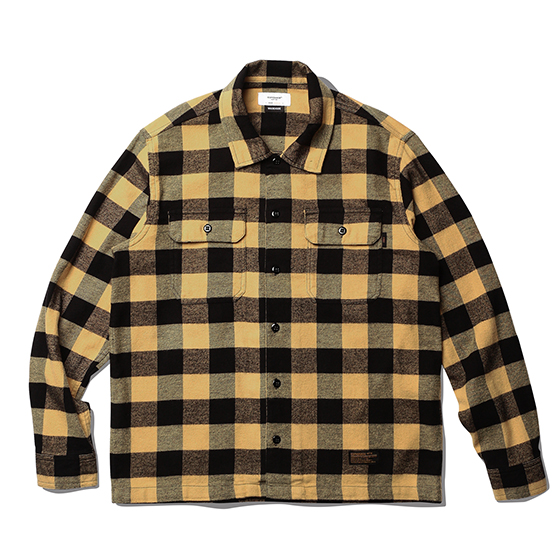 "<span style=""font-family:NanumGothic; font-size:15px; font-weight:bold;"">Fulton Buffalo Shirt Mustard</span><br /><span style=""font-family:NanumGothic; font-size:11px;"">1940년대부터 현재에 이르기까지 워크웨어, 캐쥬얼웨어에서 주로 볼 수 있었던 버팔로 체크 셔츠를 모티브로 하여 제작 된 제품으로 원, 부자재 및 패턴, 봉제 테크닉을 최대한 재현하여 레트로 무드의 디자인으로 변화시킨 제품입니다. 메인원단으로는 견고함이 우선시되는 워크 셔츠 특성에 맞게끔 밀도 높게 제직 된 20s(Cotton 100%) 버팔로 체크 원단을 사용하였으며 체크 원단만을 전문적으로 다루는 업체를 통해 국내에서 제직, 생산되는 원단을 사용하여 희소성 또한 높은 것이 특징입니다. 더불어 과거의 빈티지 셔츠 패턴 역시 재현하여 전면의 플래킷 재봉선을 제거하였으며 칼라의 넓이와 전체적으로 여유로운 패턴을 적용해 편안하게 착용 할 수 있는 것이 특징인 제품입니다. 부자재로는 Melamine button(Made In U.S.A)을 사용하여 제품의 완성도를 더욱 높이고 있으며 꼼꼼하고 높은 재봉 퀄리티는 이번 셔츠 라인업 중 가장 기술적인 부분으로 여겨지고 있습니다.</span><br /><a href=""http://www.wherehouse.co.kr/shop/shopdetail.html?branduid=743676"" target=""_blank""><span style=""font-size:11px; color:#FFE400;"">BUY NOW</span></a>"