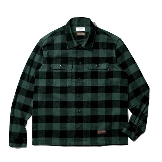"<span style=""font-family:NanumGothic; font-size:15px; font-weight:bold;"">Fulton Buffalo Shirt Green</span><br /><span style=""font-family:NanumGothic; font-size:11px;"">1940년대부터 현재에 이르기까지 워크웨어, 캐쥬얼웨어에서 주로 볼 수 있었던 버팔로 체크 셔츠를 모티브로 하여 제작 된 제품으로 원, 부자재 및 패턴, 봉제 테크닉을 최대한 재현하여 레트로 무드의 디자인으로 변화시킨 제품입니다. 메인원단으로는 견고함이 우선시되는 워크 셔츠 특성에 맞게끔 밀도 높게 제직 된 20s(Cotton 100%) 버팔로 체크 원단을 사용하였으며 체크 원단만을 전문적으로 다루는 업체를 통해 국내에서 제직, 생산되는 원단을 사용하여 희소성 또한 높은 것이 특징입니다. 더불어 과거의 빈티지 셔츠 패턴 역시 재현하여 전면의 플래킷 재봉선을 제거하였으며 칼라의 넓이와 전체적으로 여유로운 패턴을 적용해 편안하게 착용 할 수 있는 것이 특징인 제품입니다. 부자재로는 Melamine button(Made In U.S.A)을 사용하여 제품의 완성도를 더욱 높이고 있으며 꼼꼼하고 높은 재봉 퀄리티는 이번 셔츠 라인업 중 가장 기술적인 부분으로 여겨지고 있습니다.</span><br /><a href=""http://www.wherehouse.co.kr/shop/shopdetail.html?branduid=743678"" target=""_blank""><span style=""font-size:11px; color:#FFE400;"">BUY NOW</span></a>"