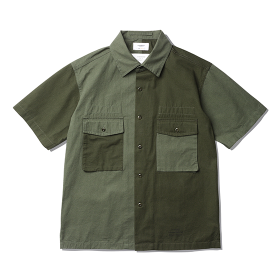 "<span style=""font-family:NanumGothic; font-size:15px; font-weight:bold;"">Hilt Fatigue Shirts Multi</span><br /><span style=""font-family:NanumGothic; font-size:11px;""> 제 2차 세계대전 당시 미 육군에게 지급 된 107 Army Shirts를 모티브로 하여 숏슬리브 형태로 재해석을 시도한 제품입니다. 메인원단으로 사용 된 30수 2합의 Ripstop(립스탑)은 제 2차 세계대전 때 군사용도로 처음 개발 되었으며 찢어짐을 방지하기 위해 바둑판 무늬로 강한 실을 사이사이에 넣어 파열이나 외부 손상에 강해 내구성이 뛰어난 원단으로 에스피오나지에서 직접 제직하여 원단의 두께나 촉감을 몸소 느끼실 수 있습니다. 전면의 밀리터리 포켓은 오리지널 107 Army 셔츠의 디테일을 차용하였고 네임택은 내부에 설치하여 외부에 자연스러운 퍼커링(Puckering)을 강조하였습니다. 또한 일반적인 스탠다드 칼라의 패턴이 아닌 새롭게 고안 된 패턴을 사용하여 착용 시 셔츠와 자켓 두 가지의 스타일링을 하실 수 있는 것이 특징인 제품으로 몸판 하단의 트임 디테일과 더불어 일반적인 셔츠와는 확연히 다른 완성도를 보여줍니다. 제품 전면에는 에스피오나지의 퀄리티 프로덕트를 의미하는 'ESPIONAGE GARMENT EQUATION QUALITY PRODUCT' 타이포그래피가 나염처리 되어 있으며 전체적으로 여유로운 패턴을 적용해 편안하게 착용할 수 있는 제품입니다.</span><br /><a href=""http://www.wherehouse.co.kr/shop/shopdetail.html?branduid=744360"" target=""_blank""><span style=""font-size:11px; color:#FFE400;"">BUY NOW</span></a>"