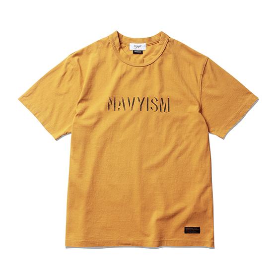 "<span style=""font-family:NanumGothic; font-size:15px; font-weight:bold;"">NAVYISM Crack T-Shirt Mustard</span><br /><span style=""font-family:NanumGothic; font-size:11px;"">미국산 면화(Cotton USA)를 바탕으로 OG 16's Ringspun Yarn(오리지널 16수 링원사)을 사용하여 편직된 원단으로 360g/yd²의 중량을 지니고 있으며 일반적인 편직물에 비해 도목을 최대한 좁게 편직하여 밀도를 높여 오랜 기간 사용에도 제품의 원형유지가 지속 되도록 많은 노력을 기울였습니다. 더불어 립(Rib) 역시 메인 원단 사양에 맞게끔 높은 밀도와 중량감 있는 100% Cotton 립(Rib)을 별도로 제직하여 쉽게 늘어 날 수 있는 넥 라인의 내구성을 강조한 제품입니다. 특히 제품의 완성 후 한 차례 워싱까지 작업해 후반 가공에 있어서도 심혈을 기울인 제품으로 특유의 촉감과 수축률을 고정화 시킨 것이 이번 제품의 장점이라고 할 수 있습니다. 제품 전면에는 NAVYISM 문구를 크랙 작업으로 고압력 및 고열의 특수 나염 처리 방식을 사용하여 오랜 사용감에도 데미지가 적도록 나염처리 한 제품입니다.</span><br /><a href=""http://www.wherehouse.co.kr/shop/shopdetail.html?branduid=744718"" target=""_blank""><span style=""font-size:11px; color:#FFE400;"">BUY NOW</span></a>"