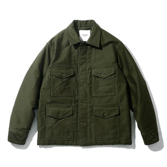 "<span style=""font-family:NanumGothic; font-size:15px; font-weight:bold;"">Pelto Jungle Cloth A-1B Jacket Olive</span><br /><span style=""font-family:NanumGothic; font-size:11px;"">1950년대 한국전쟁 당시 미 공군에게 보급 된 USAF A-1B Shirt를 모티브로 하여 겨울철에도 착용하실 수 있는 아우터로 재해석을 시도 한 제품입니다. 메인원단으로 사용 된 Jungle Cloth 원단은 12-13 A/W Season부터 Espionage에서 직접 제직하였으며 밀리터리 장르에서 빼놓을 수 없는 소재로 일반적인 직물에 비해 도목을 최대한 좁게하여 510g/yd²(18oz)의 높은 중량을 지니고 있어 오랜 사용 기간에도 충분한 가치가 존재할 수 있도록 원단의 선택에 있어서 많은 노력을 기울였습니다. 더불어 제품 완성 후 한차례 워싱을 진행함으로써 착용감 또한 매끄럽고 최종 진행한 워싱으로 제품의 고정화를 통해 최소의 수축률이 높은 장점으로 어필되는 제품입니다. 오리지널 USAF A-1B Shirt에 대한 철저한 분석을 바탕으로 전면 패치포켓의 외형은 현대적인 의복에 맞게끔 수정하였으며 패치포켓 안쪽에는 보강원단을 덧대어 내구성과 외형적인 디테일을 더하였습니다.</span><br /><a href=""http://www.wherehouse.co.kr/shop/shopdetail.html?branduid=748456"" target=""_blank""><span style=""font-size:11px; color:#FFE400;"">BUY NOW</span></a>"