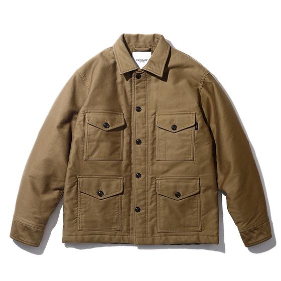 "<span style=""font-family:NanumGothic; font-size:15px; font-weight:bold;"">Pelto Jungle Cloth A-1B Jacket Tan</span><br /><span style=""font-family:NanumGothic; font-size:11px;"">1950년대 한국전쟁 당시 미 공군에게 보급 된 USAF A-1B Shirt를 모티브로 하여 겨울철에도 착용하실 수 있는 아우터로 재해석을 시도 한 제품입니다. 메인원단으로 사용 된 Jungle Cloth 원단은 12-13 A/W Season부터 Espionage에서 직접 제직하였으며 밀리터리 장르에서 빼놓을 수 없는 소재로 일반적인 직물에 비해 도목을 최대한 좁게하여 510g/yd²(18oz)의 높은 중량을 지니고 있어 오랜 사용 기간에도 충분한 가치가 존재할 수 있도록 원단의 선택에 있어서 많은 노력을 기울였습니다. 더불어 제품 완성 후 한차례 워싱을 진행함으로써 착용감 또한 매끄럽고 최종 진행한 워싱으로 제품의 고정화를 통해 최소의 수축률이 높은 장점으로 어필되는 제품입니다. 오리지널 USAF A-1B Shirt에 대한 철저한 분석을 바탕으로 전면 패치포켓의 외형은 현대적인 의복에 맞게끔 수정하였으며 패치포켓 안쪽에는 보강원단을 덧대어 내구성과 외형적인 디테일을 더하였습니다.</span><br /><a href=""http://www.wherehouse.co.kr/shop/shopdetail.html?branduid=748457"" target=""_blank""><span style=""font-size:11px; color:#FFE400;"">BUY NOW</span></a>"
