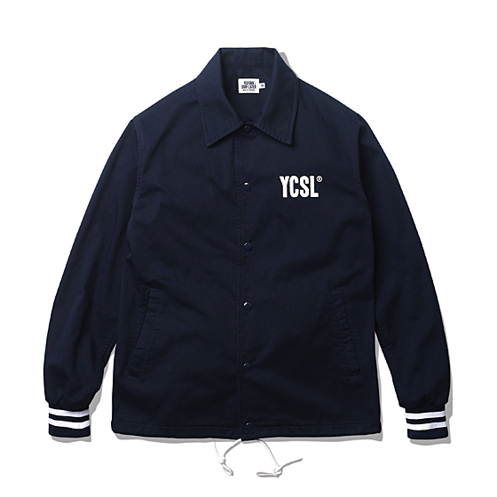 "<span style=""font-family:NanumGothic; font-size:15px; font-weight:bold;"">YCSL Cotton Coach Jacket Dark Navy</span><br /><span style=""font-family:NanumGothic; font-size:11px;"">트렌디하게 활용할 수 있는 코치 자켓 제품으로 셔츠와 코치 자켓의 분위기를 적극 믹스했으며 100% 코튼 원단을 사용해 좀 더 웨어러블한 타입의 제품으로 전환을 시도한 아이템입니다. 오리지널 코치 자켓의 분위기를 가지되 단조로움을 피하기 위해 소매에 스트라이프 리브를 적용해 유니크한 분위기를 더했습니다. 초봄 뿐만 아니라 다양한 계절에 제품을 활용할 수 있도록 제품의 무게를 덜어낸 것이 장점인 제품입니다. YKK社의 유광 코팅 스냅 버튼을 메인 버튼으로 사용했으며 밀도 높은 밀리터리 스트링을 직접 제작해 하단 디테일로 활용했습니다. 더불어 'YCSL' 로고가 전면에 나염처리 되어 있으며 후면 역시'YOU CAN SURF LATER' 로고타입이 나염처리 되어 있습니다.</span><br /><a href=""http://www.wherehouse.co.kr/shop/shopdetail.html?branduid=728140&xcode=029&mcode=003&scode=&type=Y&sort=order"" target=""_blank""><span style=""font-size:11px; color:#FFE400;"">BUY NOW</span></a>"
