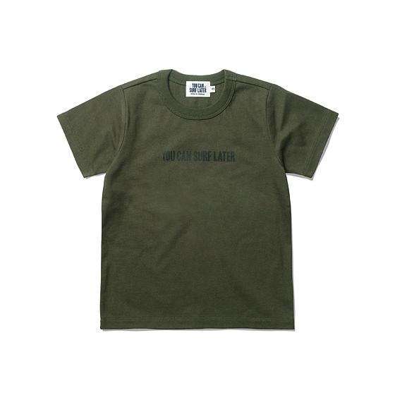 """<span style=""""font-family:NanumGothic; font-size:15px; font-weight:bold;"""">Kids YCSL OG Logo S/S T-shirt Olive</span><br /><span style=""""font-family:NanumGothic; font-size:11px;"""">YOU CAN SURF LATER' 브랜드의 첫 번째 KIDS 라인 아이템으로 20S의 단단한 원단으로 제직된 티셔츠 입니다. 흔히 키즈 라인에서 보기 어려운 밀리터리 장르의 대표 컬러인 올리브 컬러를 사용하여 희소성을 높였으며 가슴의 작은 'YOU CAN SURF LATER' 로고 타입이 귀여운 제품입니다. 또한 'YOU CAN SURF LATER'라는 브랜드에서 직접적으로 느낄 수 있듯이 우리의 SMALL AGENT들에게 희망의 메세지를 전달하고자 하는 의미가 깊은 제품이며 단단한 재봉으로 마감하여 성인 의류 못지않은 완성도를 역시 느끼실 수 있습니다.</span><br /><a href=""""http://www.wherehouse.co.kr/shop/shopdetail.html?branduid=728749&xcode=029&mcode=003&scode=&type=Y&sort=order"""" target=""""_blank""""><span style=""""font-size:11px; color:#FFE400;"""">BUY NOW</span></a>"""