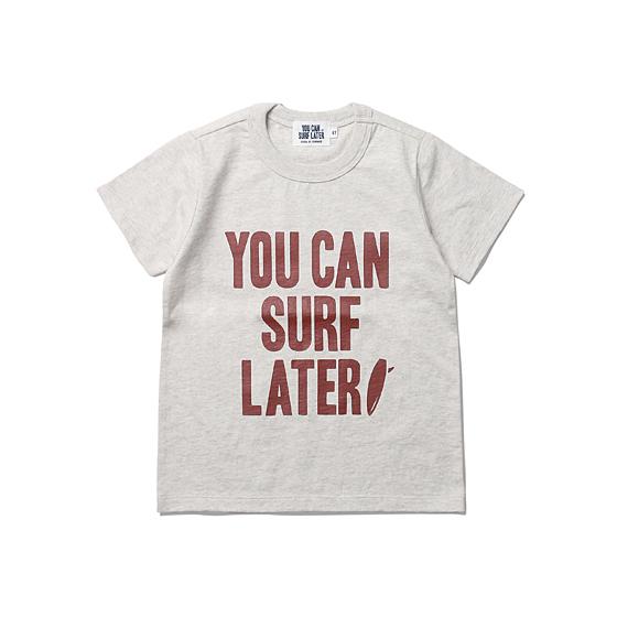 """<span style=""""font-family:NanumGothic; font-size:15px; font-weight:bold;"""">Kids YCSL Big Logo S/S T-shirt Oatmeal</span><br /><span style=""""font-family:NanumGothic; font-size:11px;"""">'YOU CAN SURF LATER' 브랜드의 첫 번째 KIDS 라인 아이템으로 20S의 단단한 원단으로 제직된 티셔츠 제품입니다. 외형적으로도 편안하고 부담 없는 제품을 만들기 크림 아이보리의 멜란지 원사를 사용한 원단을 사용했으며 특히 'YOU CAN SURF LATER'라는 브랜드 네이밍에서 직접적으로 느낄 수 있듯이 우리의 SMALL AGENT들에게 희망의 메세지를 전달하고자 하는 의미가 깊은 제품이며 단단한 재봉으로 마감하여 성인 의류 못지않은 완성도를 역시 느끼실 수 있습니다.</span><br /><a href=""""http://www.wherehouse.co.kr/shop/shopdetail.html?branduid=728748&xcode=029&mcode=003&scode=&type=Y&sort=order"""" target=""""_blank""""><span style=""""font-size:11px; color:#FFE400;"""">BUY NOW</span></a>"""